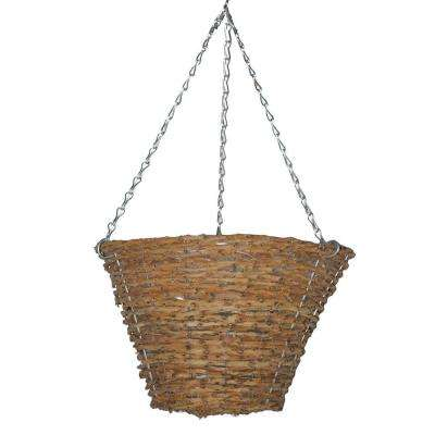 12 in. Vine Bucket Planter with Chain