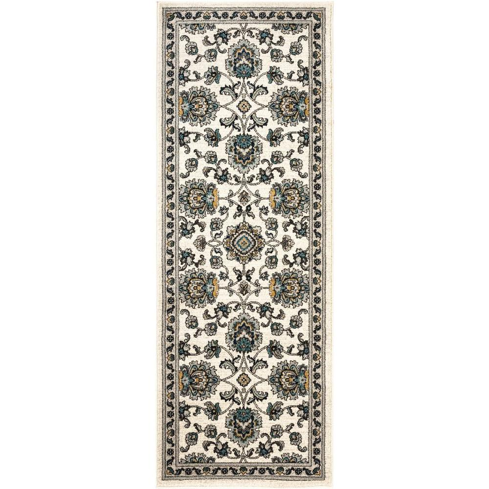 Kitchen Furniture Tralee: Tayse Rugs Kensington Cream 2 Ft. 7 In. X 7 Ft. 3 In