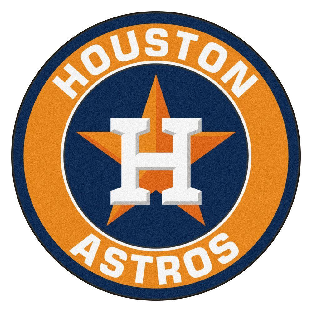 MLB Houston Astros Orange 2 Ft. 3 In. X 2 Ft. 3 In