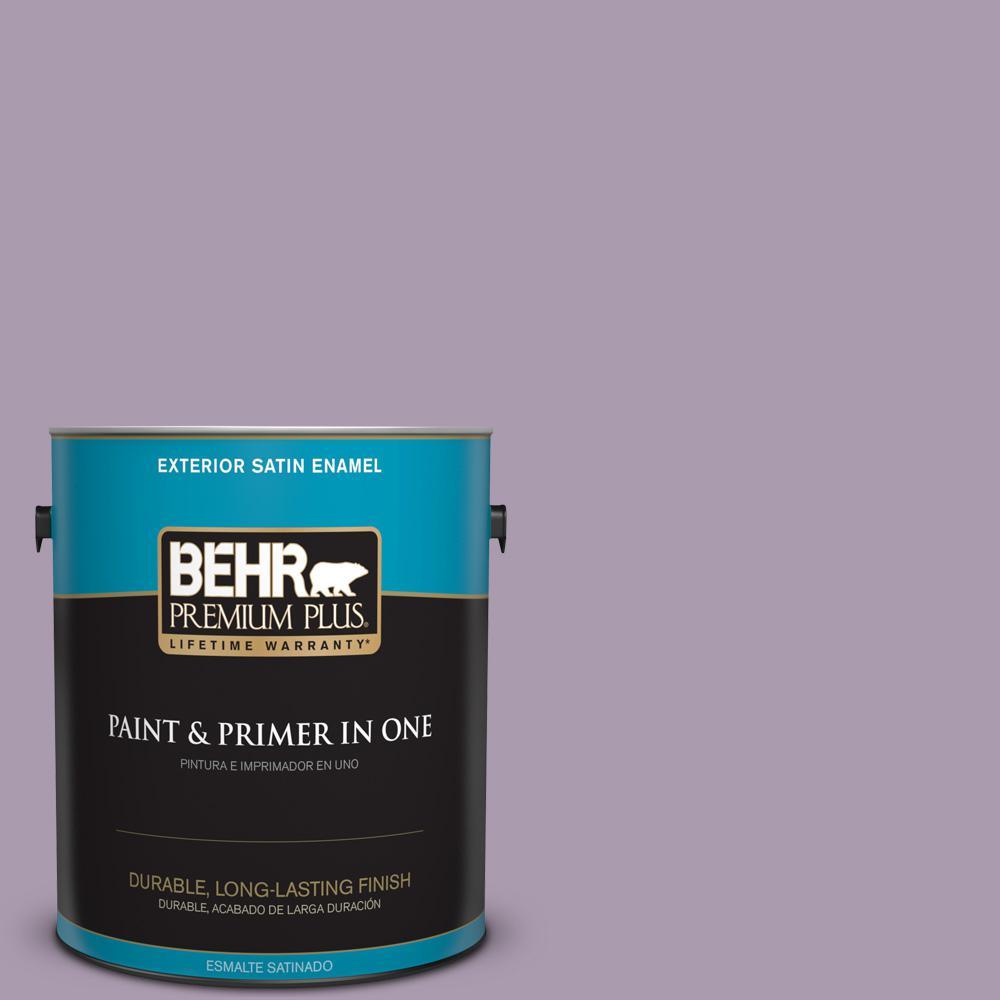 1 gal. #PPU16-12 Charm Satin Enamel Exterior Paint