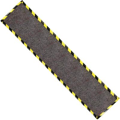 33 in. x 1800 in. Path Mat in Gray with Grid