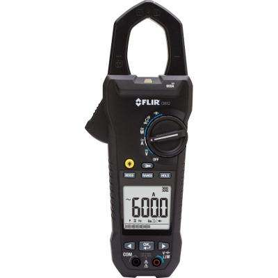 600-Amp Power Clamp Meter with VFD