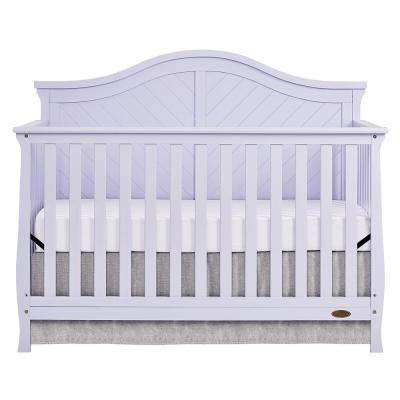 Kaylin Lavender Ice 5-in-1 Convertible Crib