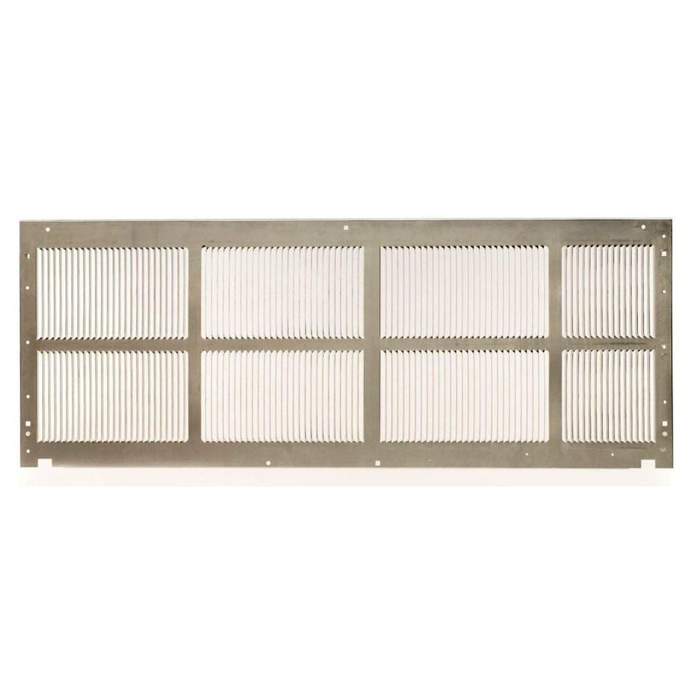 16 in. x 42 in. Single Pack Standard Stamped Aluminum Grille