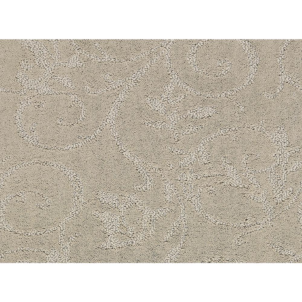 Cheriton - Color Breezy Cream Pattern 12 ft. Carpet