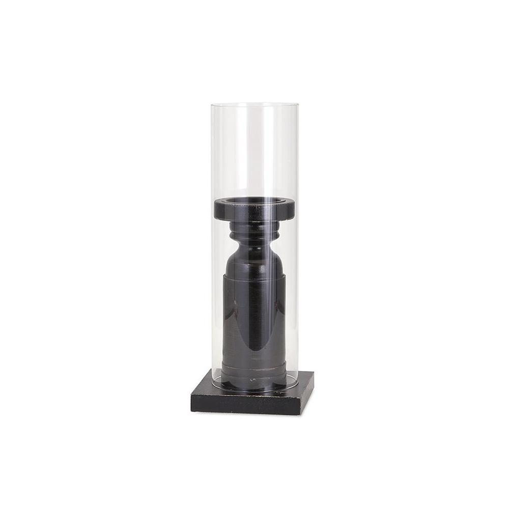 Home Decorators Collection Elijah 17 in. Black Pine and G...