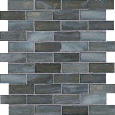 Oceano 12 in. x 12 in. x 6mm Glass Mesh-Mounted Mosaic Tile (15 sq. ft. / case)
