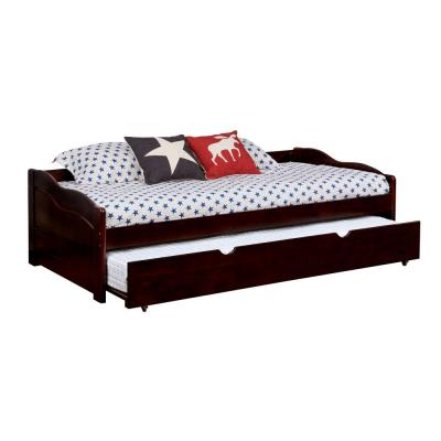 Sunset Espresso Twin Size Daybed with Trundle