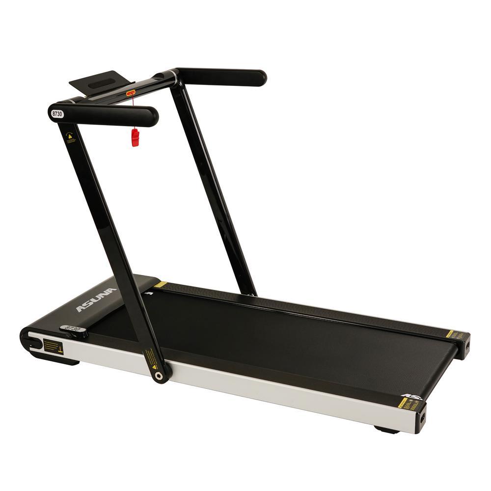 ASUNA Space Saving Treadmill, Motorized, Low Profile and Slim Folding
