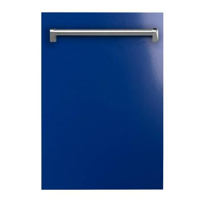 18 in. Top Control Dishwasher in Blue Gloss with Stainless Steel Tub and Traditional Style Handle, ENERGY STAR