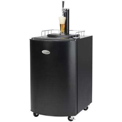 Kegorator Beer Keg Fridge in Black