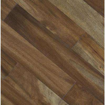 Take Home Sample - Driftwood Acacia Click Lock Exotic Engineered Hardwood Flooring - 5 in. x 7 in.