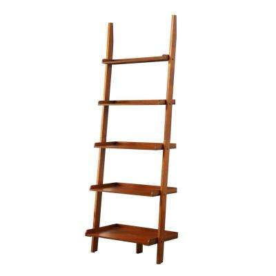 American Heritage Cherry Ladder Bookcase