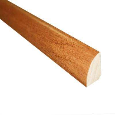 Oak Spice 3/4 in. Thick x 3/4 in. Wide x 78 in. Length Hardwood Quarter Round Molding