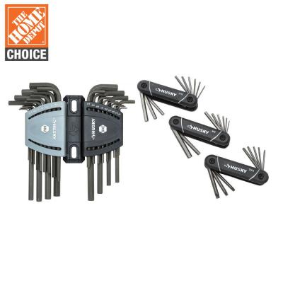 Folding Hex and Torx with Hex Key Set (29-Piece)