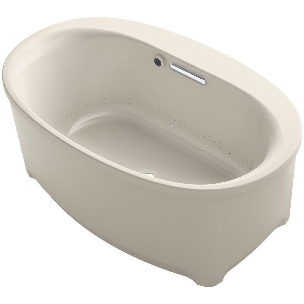 Underscore 5 ft. Air Bath Tub in Sandbar