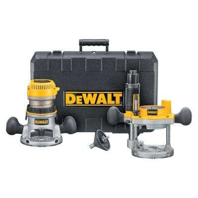 1-3/4 HP Fixed Base / Plunge Router Combo Kit