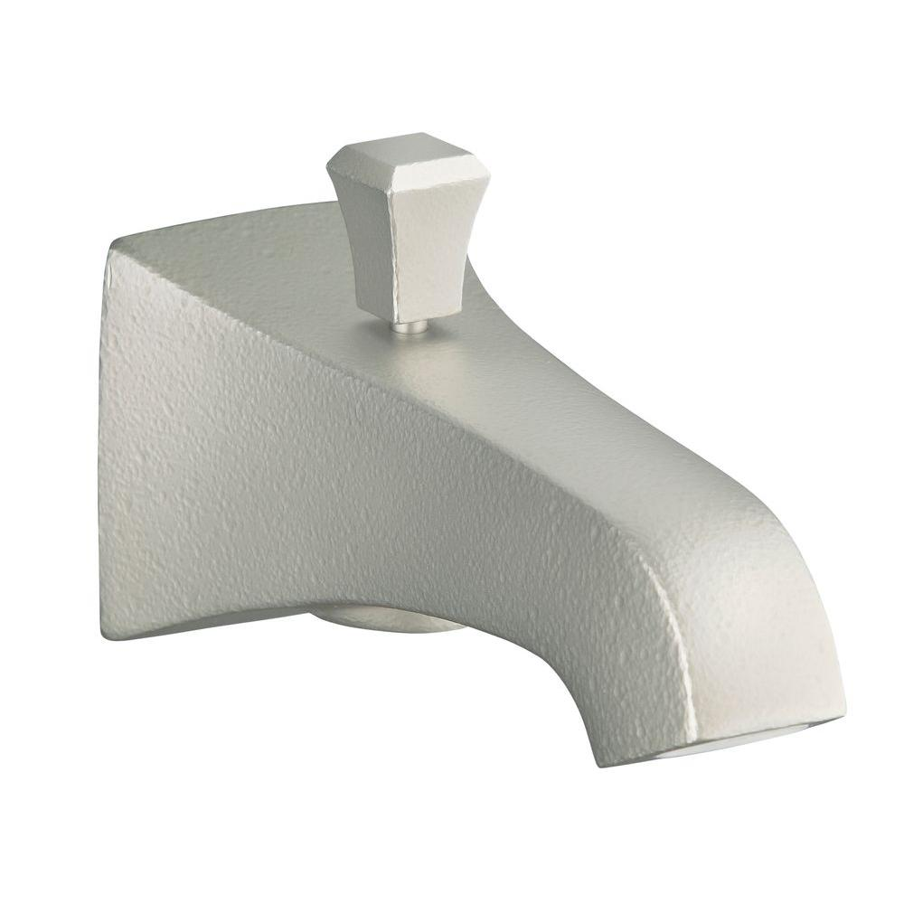 Memoirs Diverter Bath Spout in Vibrant Brushed Nickel