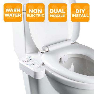 Marvelous Economy Class Duo Bidet Attachment In White Ncnpc Chair Design For Home Ncnpcorg