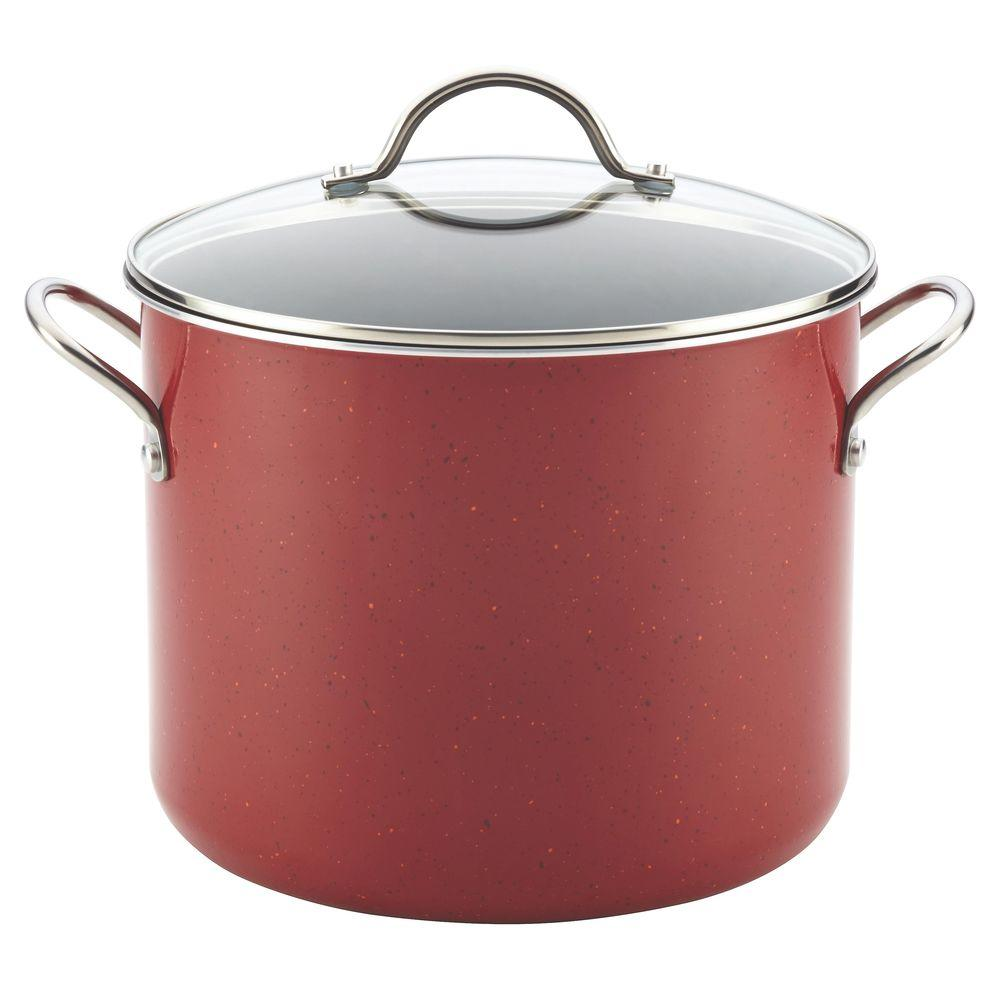 New Traditions 12 Qt. Aluminum Stock Pot with Lid