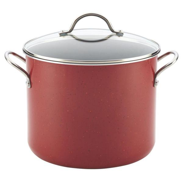 Farberware New Traditions 12 Qt. Aluminum Stock Pot with Lid 14512
