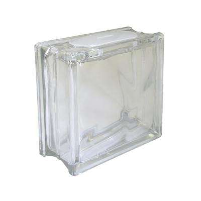 7-1/2 in. x 7-1/2 in. x 3-1/8 in. Glass Block for Arts and Crafts (5-Pack)