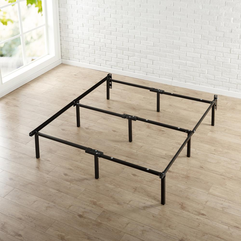 Rest Rite 14 in. Twin Metal Platform Bed Frame with Cover ...