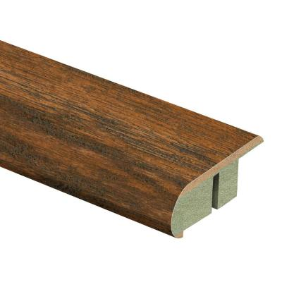 Medium Hickory 3/4 in. Thick x 2-1/8 in. Wide x 94 in. Length Laminate Stair Nose Molding