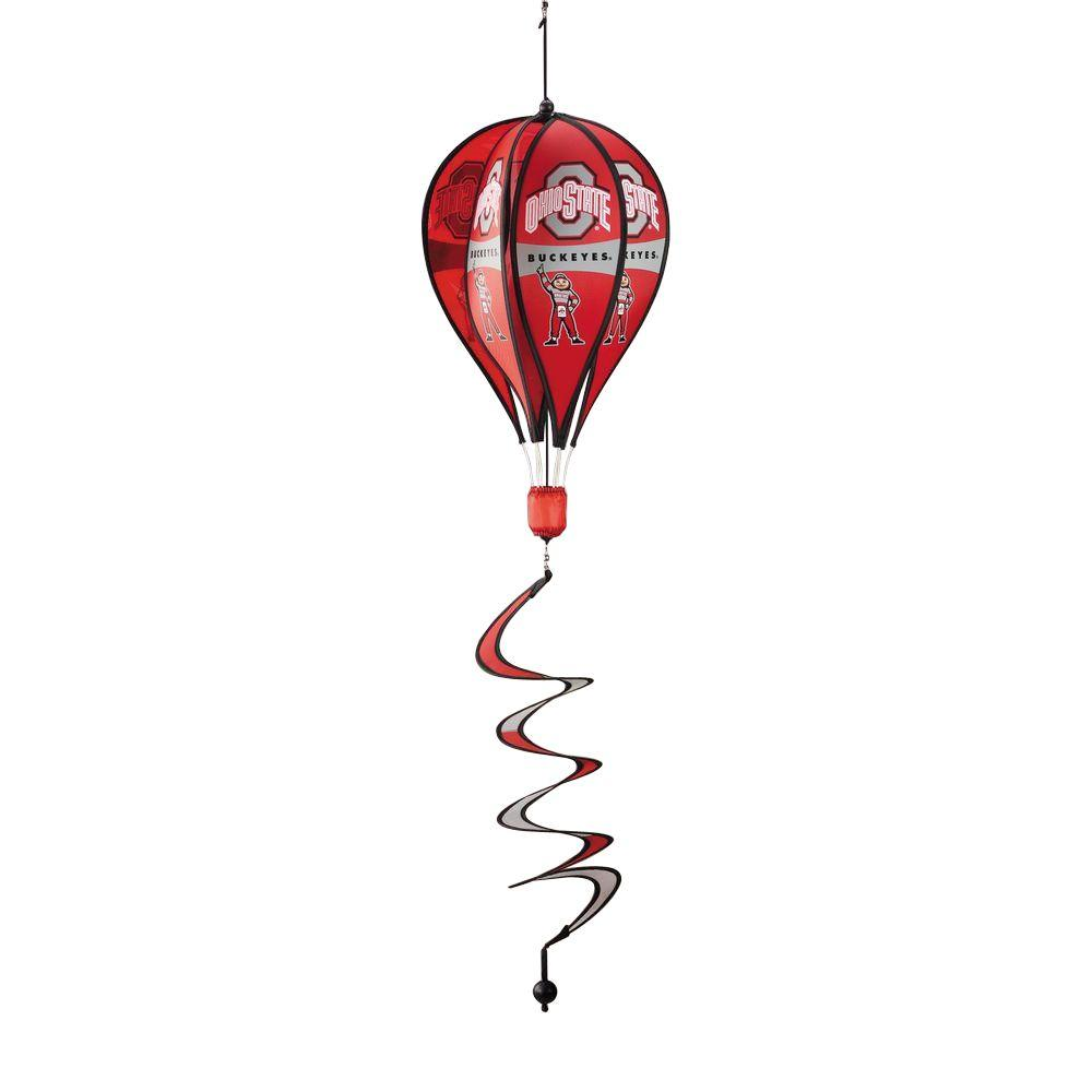 BSI Products NCAA Ohio State Buckeyes Hot Air Balloon Spinner