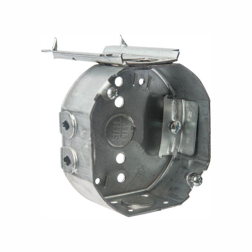 """3-1//2/"""" Octagon Electrical Metal Box Drawn 1//2/"""" Knockouts KO/'s ~Raco 110 1 pc"""
