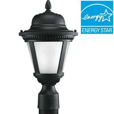 Westport Collection 1-Light Black LED Post Lantern