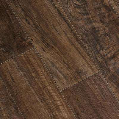 High Gloss Greyson Olive 8 mm Thick x 5-5/8 in. Wide x 47-7/8 in. Length Laminate Flooring (18.70 sq. ft. / Case)