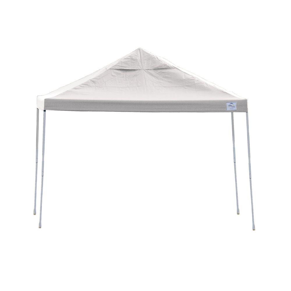 ShelterLogic Pro Series 12 ft. x 12 ft. White Straight Leg Pop-Up  sc 1 st  The Home Depot & ShelterLogic Pro Series 12 ft. x 12 ft. White Straight Leg Pop-Up ...