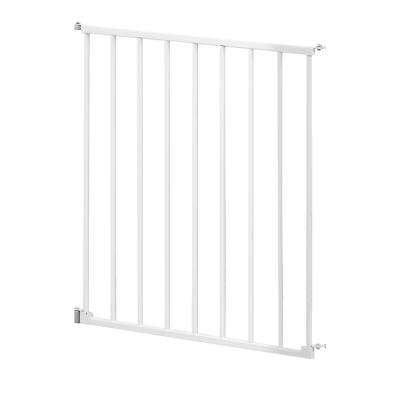 24 in. Section White for Slam Shut Custom Fit Gate