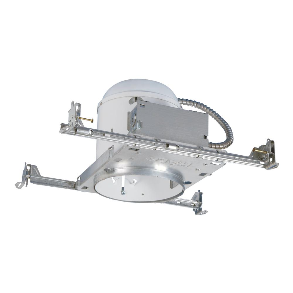Halo H7 6 in. Steel Recessed Lighting Housing for New Construction Ceiling, No Insulation Contact