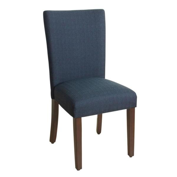Homepop Classic Parsons Navy Blue Dining Chair