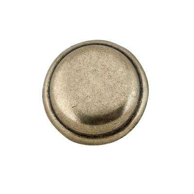 1-1/4 in. Antique English Round Cabinet Knob (10-Pack)