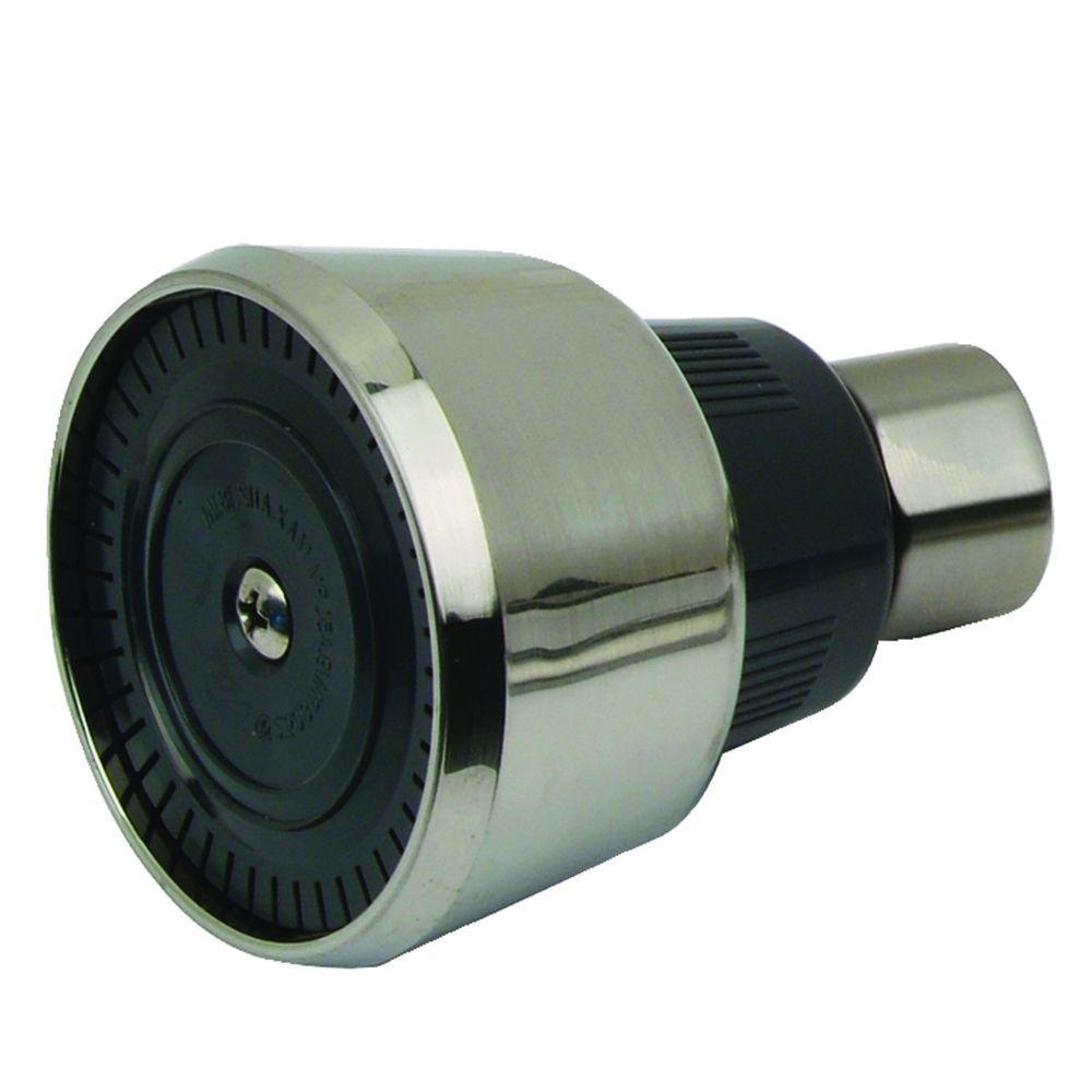 Mixet 1-Spray 2.34 in. Showerhead in PVD Satin Nickel