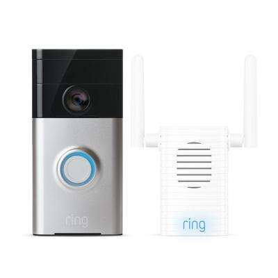 Wireless Video Doorbell with Chime Pro