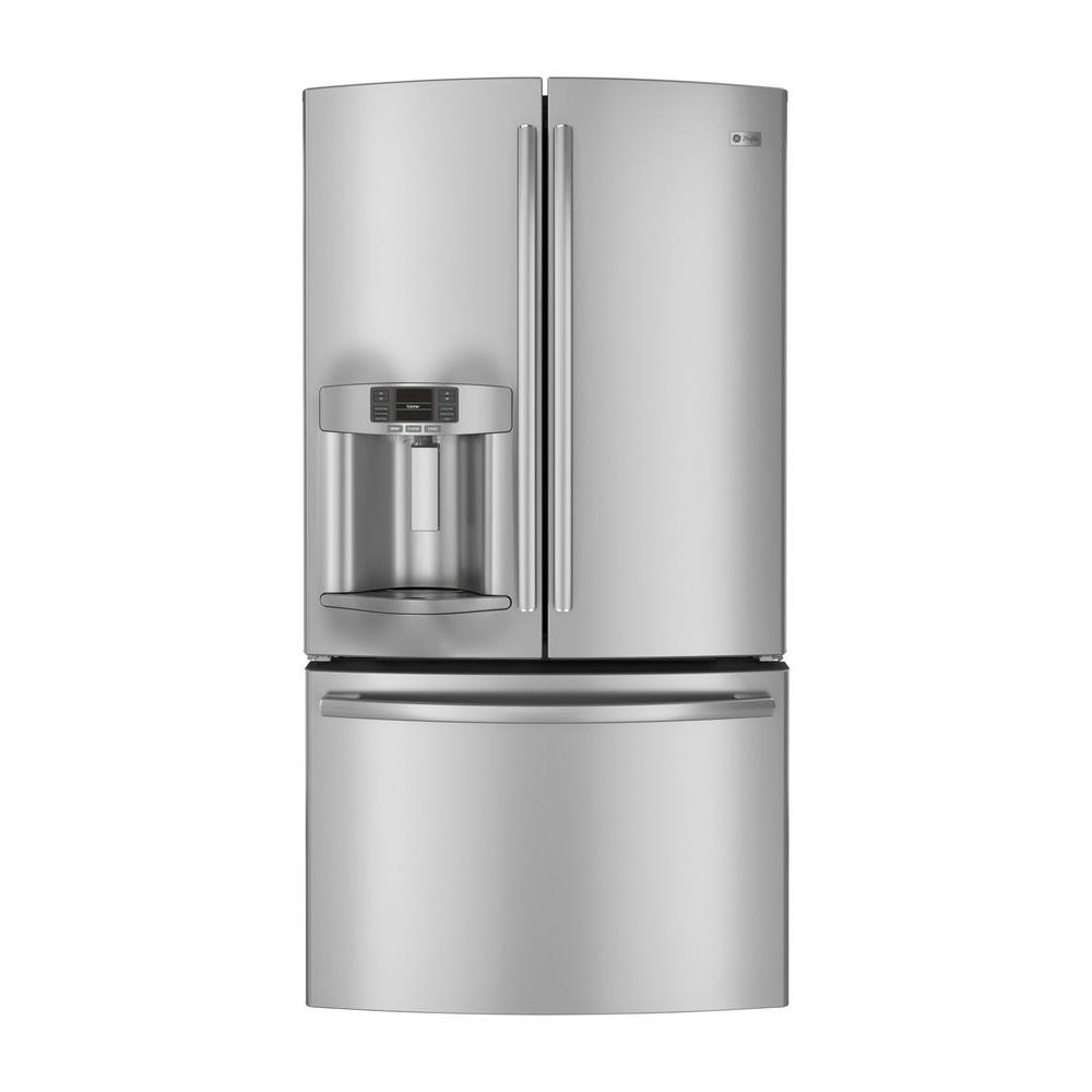 GE 26.7 cu. ft. French Door Refrigerator in Stainless Steel