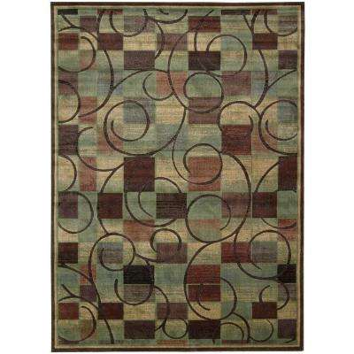 Expressions Brown 10 ft. x 13 ft. Area Rug