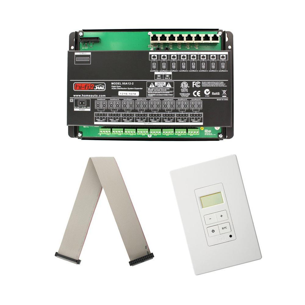 Leviton Hi Fi 2 8 Zone Expansion Kit For Structured Wiring Home Enclosures