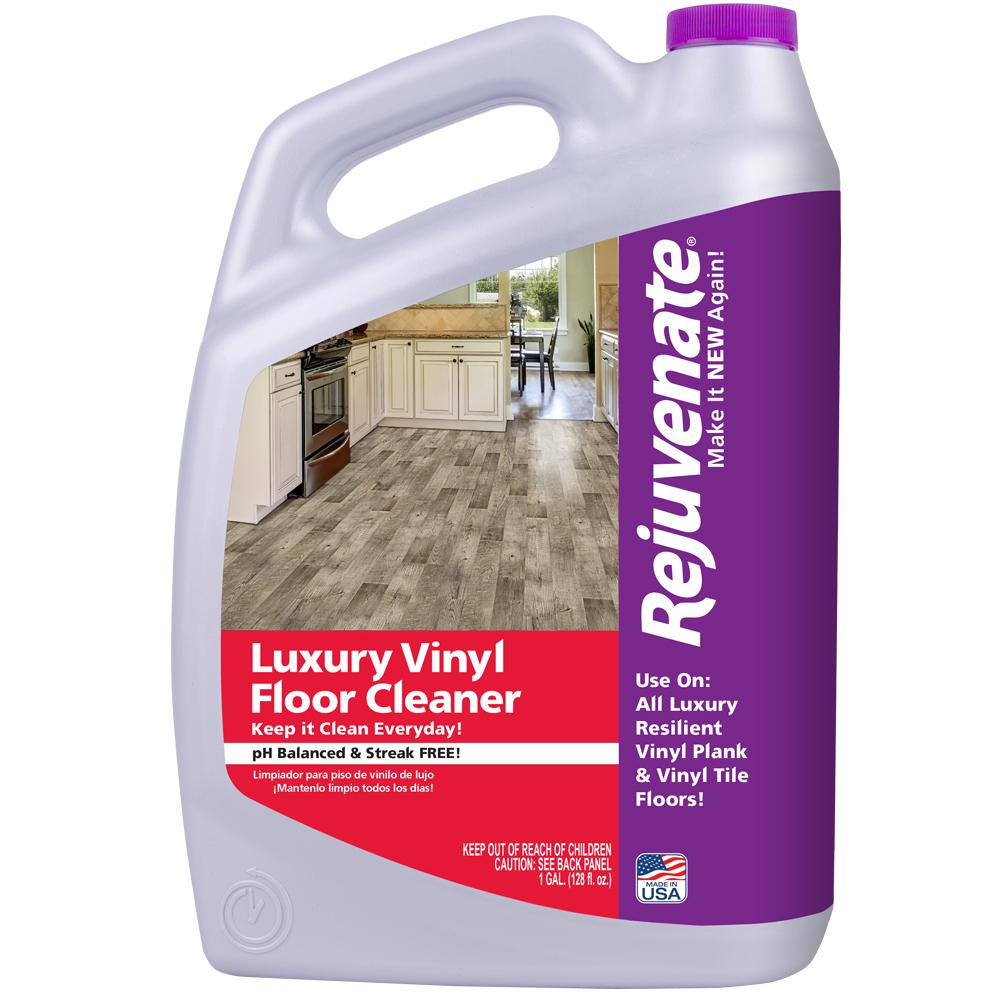 Rejuvenate 128 oz luxury vinyl floor cleaner rj128lvfc the home depot luxury vinyl floor cleaner dailygadgetfo Choice Image
