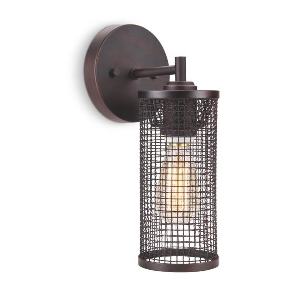 Magila 1-Light Bronze Sconce