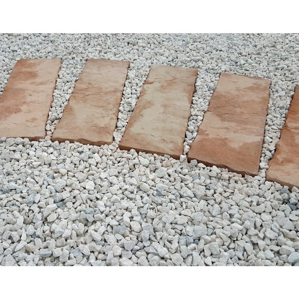 10 cu. ft. Marble Chips White/Gray Blend Decorative Stone - (1 Bag/10 cu. ft./Pallet)