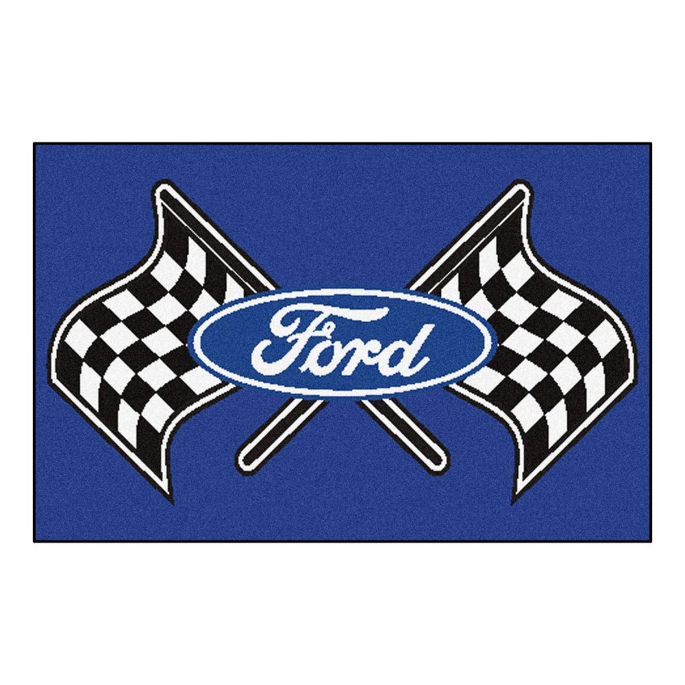 Ford - Ford Flags Blue 2 ft. x 3 ft. Indoor