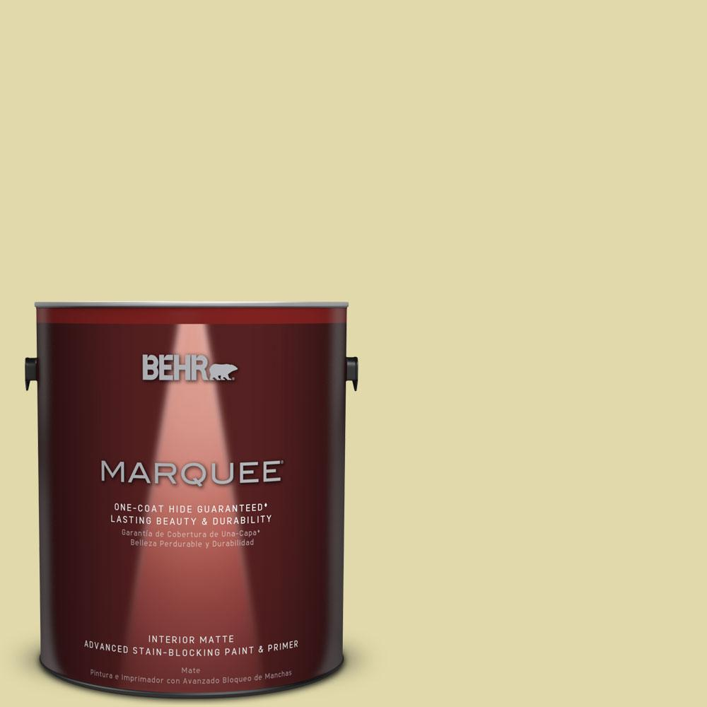 1 gal. #HDC-CT-27A Fresh Willow Flat Interior Paint