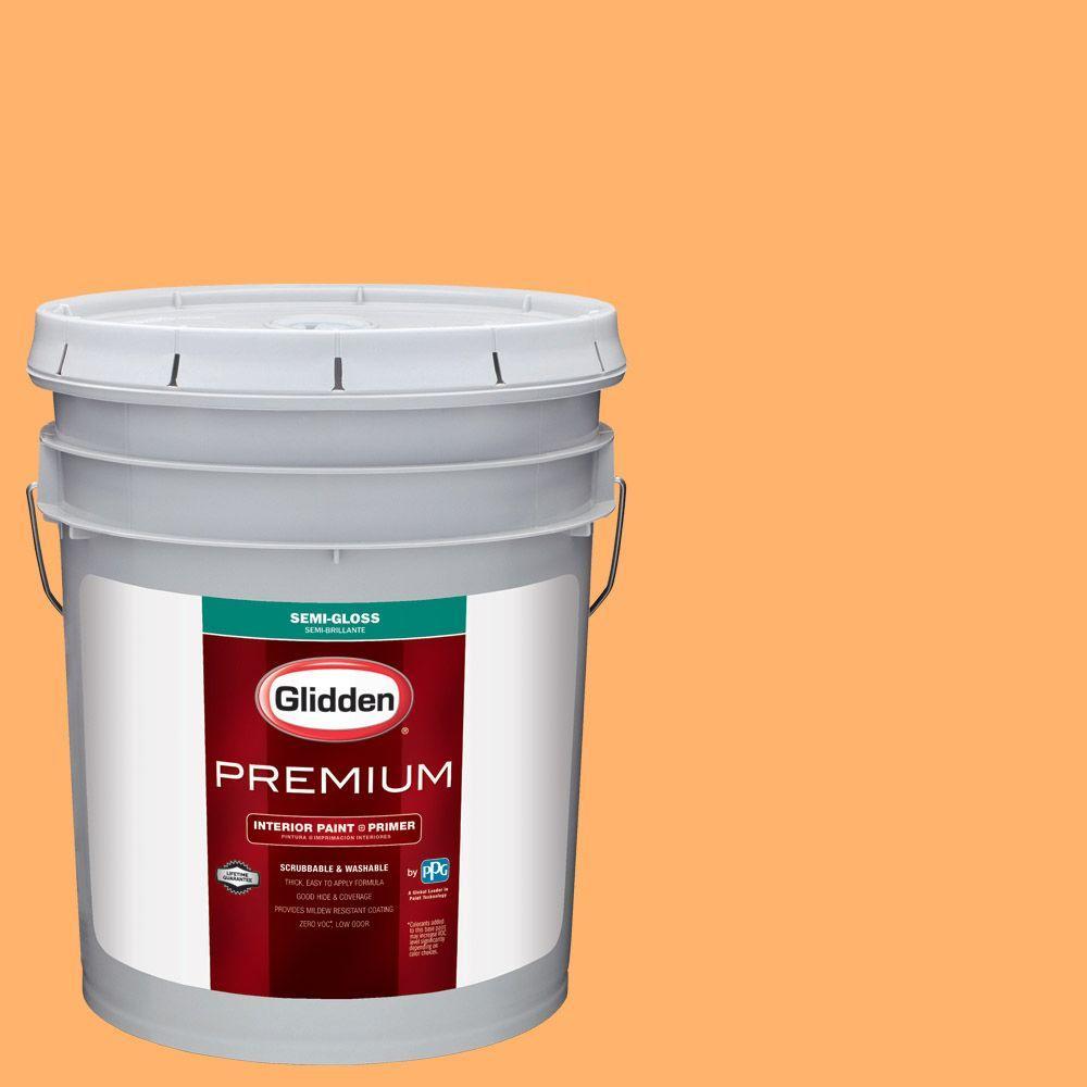 Hdgo41 Juicy Cantaloupe Semi Gloss Interior Paint With Primer