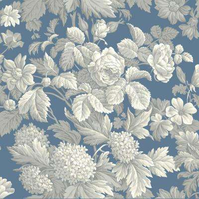 Antique Floral Wallpaper
