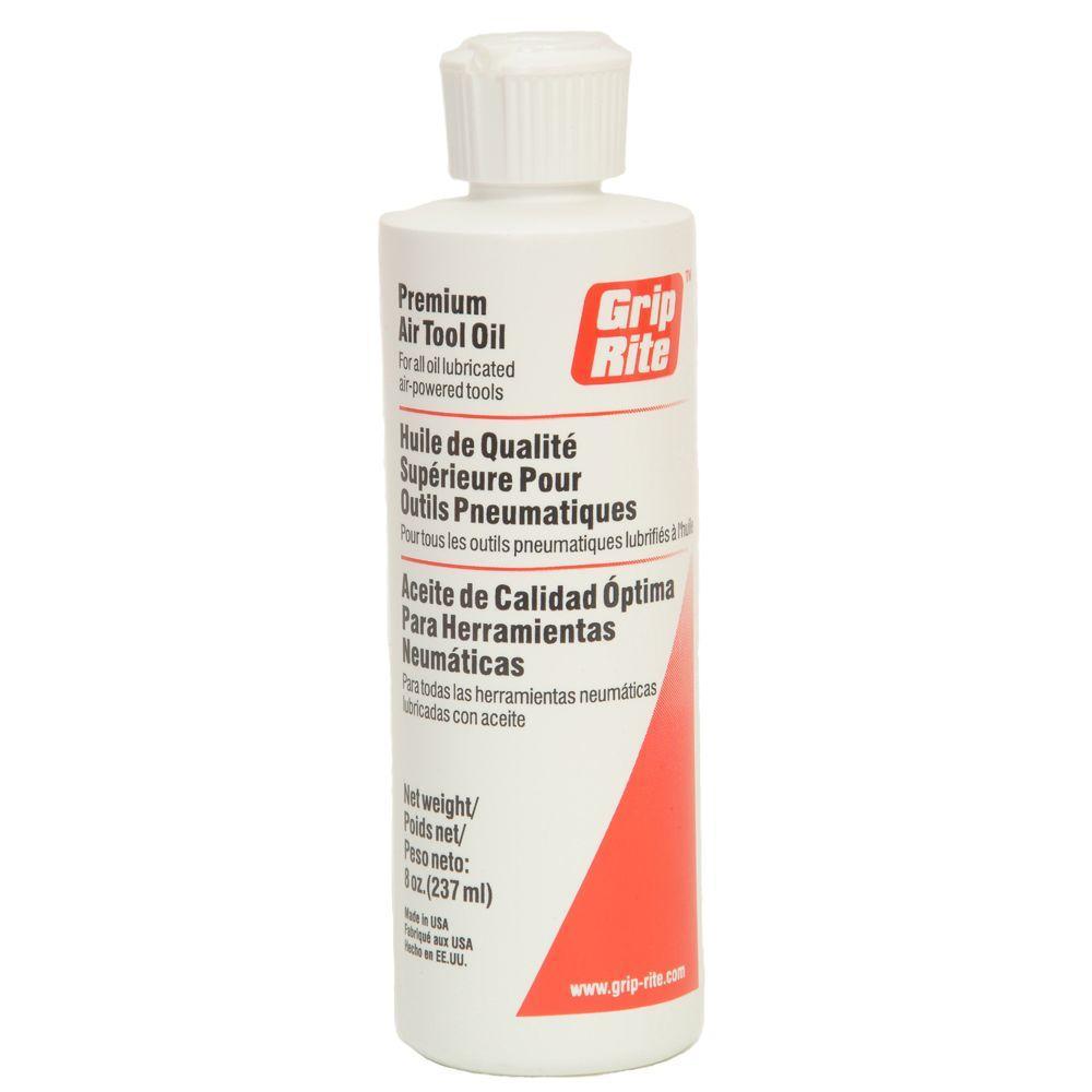 Grip-Rite 8 oz. Air Tool Oil